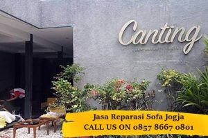 Canting Restaurant Jogja Percaya Jasa Service Sofa